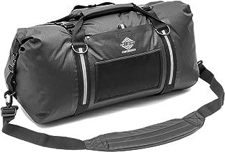 Aqua Quest White Water Duffel - 100% Waterproof Bag 50L, 75L & 100L - Lightweight, Durable, External Pockets - Black, Charcoal, Red, Blue, Gray or Camo