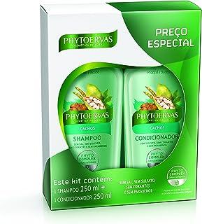 Kit Shampoo com Condicionador Cachos, Phytoervas, Verde