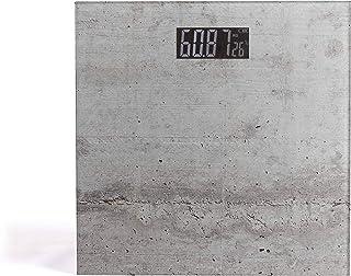 LIVOO Báscula electrónica de impresión gris