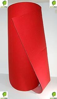 Alfombra roja de 1 m de ancho, rollo de 20 m, ideal para