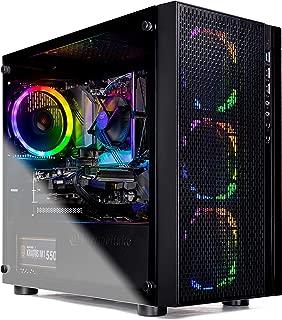 SkyTech Blaze - Gaming Computer PC Desktop – Intel Core I5 9400F 6-Core 2.9 GHz, NVIDIA GeForce GTX 1660, 500G SSD, 8GB DDR4, AC WiFi, Windows 10 Home 64-bit (Intel 9400F | 8GB | GTX 1660)