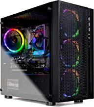SkyTech Blaze - Gaming Computer PC Desktop – Intel Core I5 9400F 6-Core 2.9 GHz, NVIDIA GeForce GTX 1660, 500G SSD, 8GB DD...
