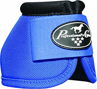 Professional' Choice Ballistic No Turn Overreach Bell Boots Sizes (Royal Blue, Large)