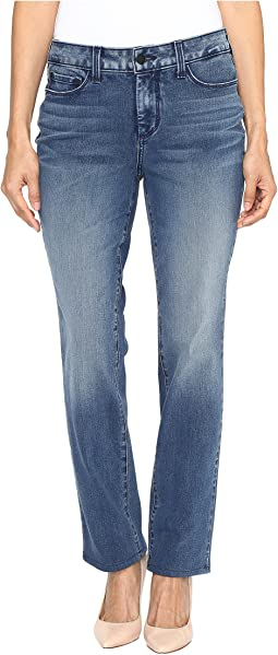 NYDJ Petite - Petite Sheri Slim in Shape 360 Denim in Arctic Haze