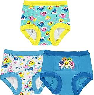 Handcraft Boys' Toddler Baby Shark 7pk Potty Training Pant