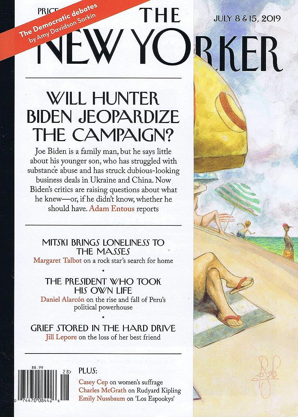 エチケット敏感なお誕生日The New Yorker [US] July 8 - 15 2019 (単号)