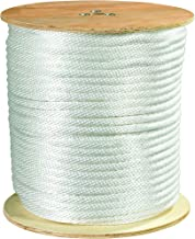 Partners Brand PTWR122 Solid Braided Nylon Rope, 1/2
