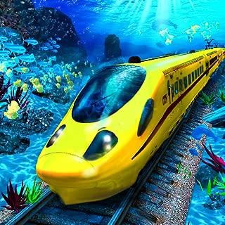 USA Bullet Train Simulator UnderWater Pro 2019: Aqua Rush Passenger Transporting Metro Subway Driver Train Sim Adventure Mania