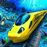 USA Bullet Train Simulator UnderWater Pro 2019: Aqua Rush Passeggero che trasporta Metro Subway Driver Train Sim Adventure Mania