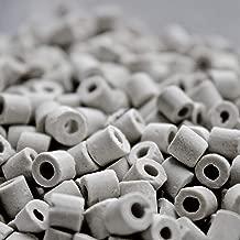 Moonshine Distiller Ceramic Raschig Rings for Reflux Column Packing - 1 Liter (2 lb 9 oz)