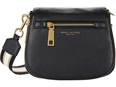 Marc Jacobs Small Nomad Crossbody (Black) Handbags