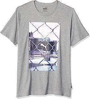 PUMA Mens Photoprint Tee Short Sleeve T-Shirt