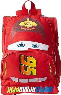 Disney Big Boys' Cars Lightining Mcqueen Mini Rolling Backpack