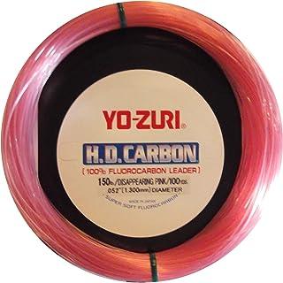 Yo-Zuri 30-Yard HD Fluorocarbon Leader Line, Pink, 100-Pound