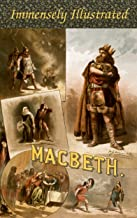 MACBETH. EDITION DE LUXE (Illustrated with 60 exquisite paintings and vintage engravings of celebrated masters). Detailed Table of Contents (English Edition)