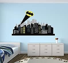 Gotham City Wall Decal Baby Boy Kids Decor Nursery Gift Art Vinyl Sticker