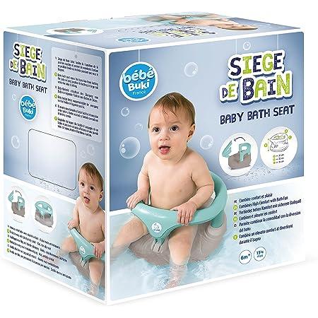 Drehbarer Badesitz Baby-Badewannensitz zum Sitzen Baden Baby-Badewannenst/ütze mit R/ückenlehnenst/ütze und Saugn/äpfen f/ür Stabilit/ät