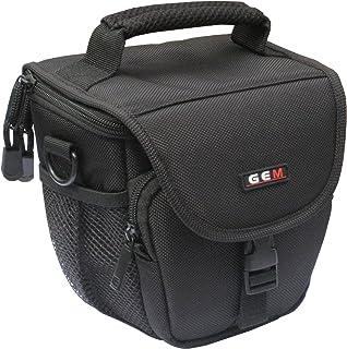 GEM Compact Easy Access Funda para cámara de Fotos Panasonic Lumix dc-fz80 dc-fz82Incluye Protector para la Lluvia