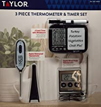 Best taylor 3 piece thermometer Reviews