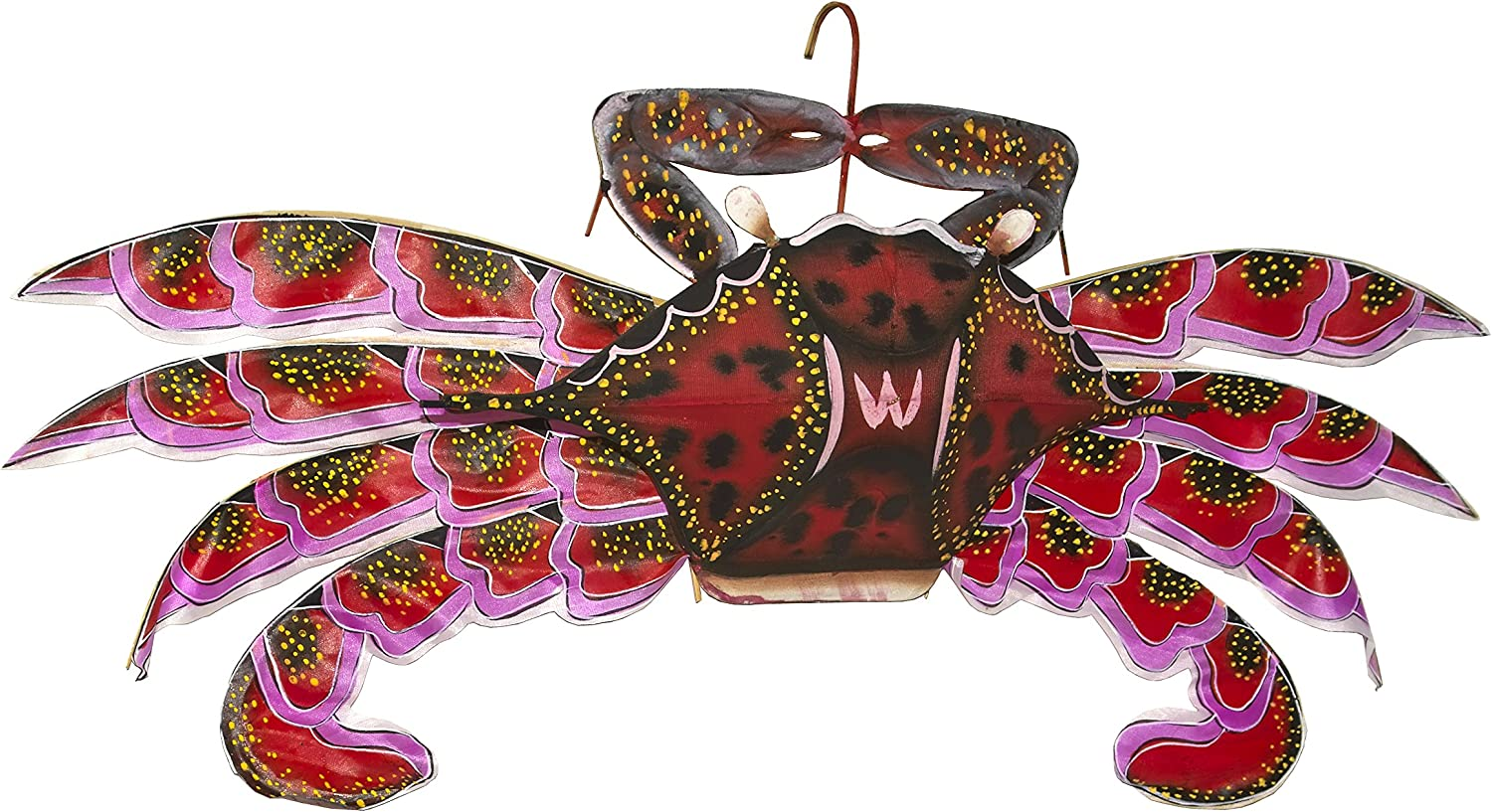 Hand Outstanding Crafted Red Crab Challenge the lowest price of Japan ☆ with Kite Box Gift
