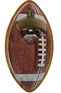 Football Shaped Magnetic Bottle Opener