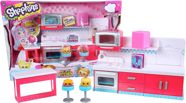 Shopkins Chef Club Hot Spot Kitchen Amazon De Spielzeug