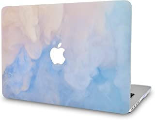 LuvCase Laptop Case for MacBook Air 13 Inch(2020/2019/2018) A2179/A1932 Retina Display (Touch ID)RubberizedPlasticHardShellCover (Blue Mist)