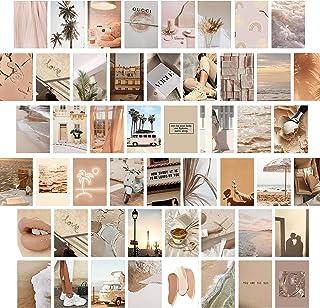 myDreamwork - Lot de 50 tableaux de collage mural haut de gamme – Esthétique   Ensemble de tableaux élégants pour le salon...