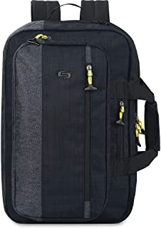 """Solo Velocity 15.6"""" Laptop Hybrid Backpack Briefcase"""