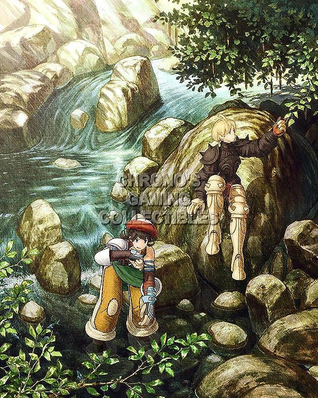 Final Fantasy CGC Huge Poster Tactics PS1 PS2 PSP Vita Nintendo DS GBA - FTA003 (24