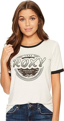 Roxy - Puerto Pic Roxy 1990 Screen Tee
