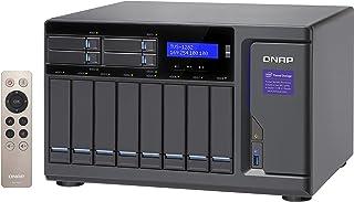 Qnap 12 Bay NAS/iSCSI IP-SAN,Intel Skylake Core i5 3.6GHz 四核 (TVS-1282-i5-16G-450W-US) 32G-450W