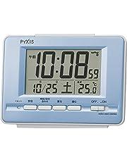 セイコー クロック 目覚まし時計 電波 デジタル カレンダー 温度 表示 PYXIS ピクシス