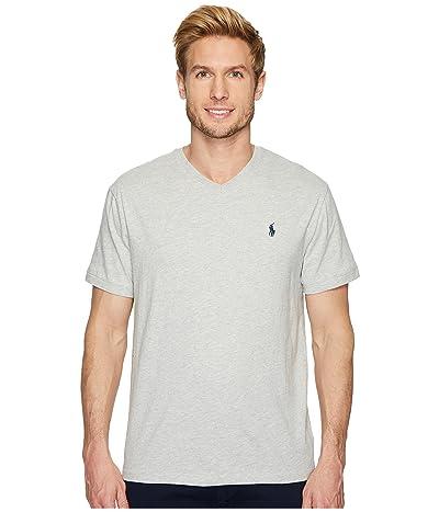 Polo Ralph Lauren Classic Fit V-Neck T-Shirt (Taylor Heather) Men