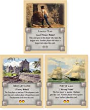 Longest Turn, Most Developed and Port of Call Bonus Cards an Unofficial Expansion Compatible with Settlers of Catan, Citie...