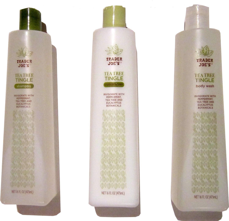 Tea Tree Sales for sale Tingle Cruelty Free Shampoo - Conditioner Body Bundle Super special price