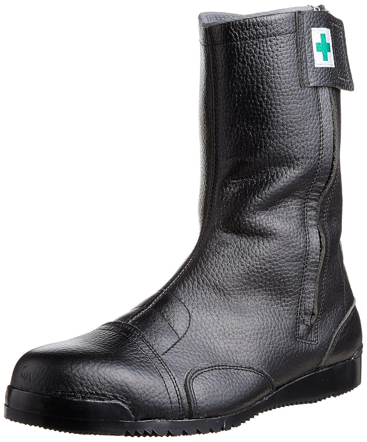 ピクニックリアル予言する[ノサックス] 安全靴 高所用JIS規格 みやじま鳶半長靴 メンズ