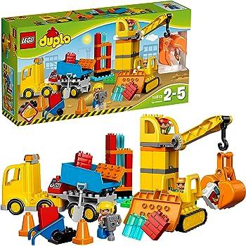 """レゴ (LEGO) デュプロ デュプロ®のまち""""工事現場とはたらく車"""" 10813"""