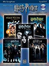 Harry Potter Instrumental Solos (Movies 1-5): Alto Sax, Book & CD (Pop Instrumental Solos Series)