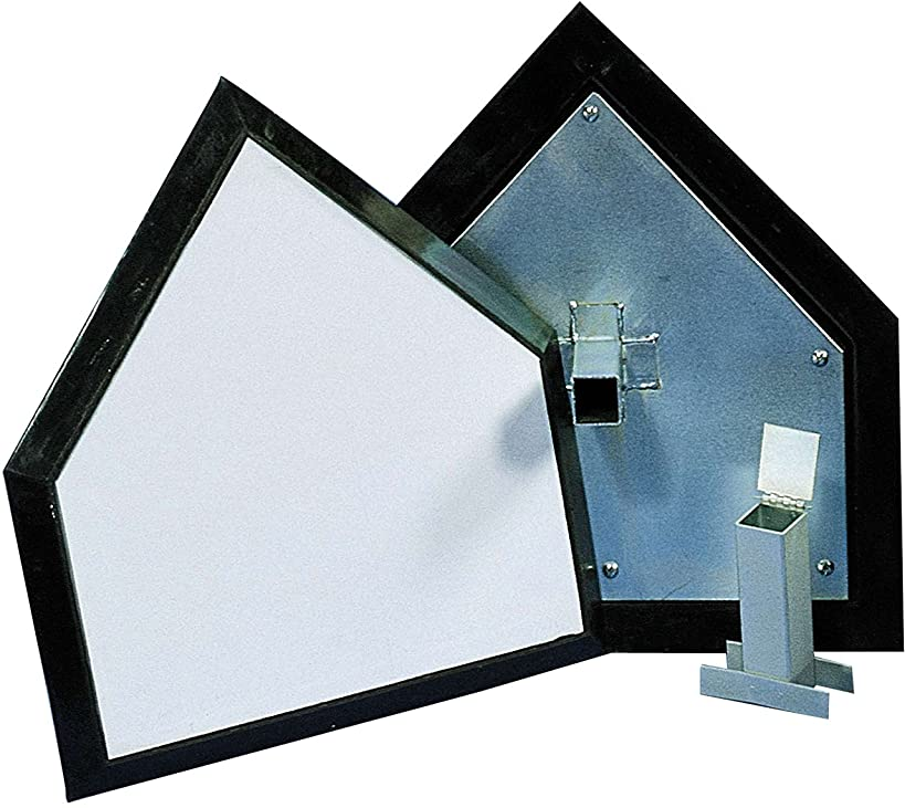 Champro Pro Style Home Plate Individual Box (White)
