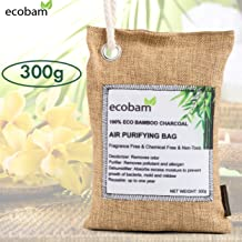 Bamboo Charcoal Purifying Bag 300 g Natural Air Freshener Odor Eliminator Bags Car Room Kitchen Refrigerator Bathroom Clear Air Freshener Charcoal Bags For Smell Removal