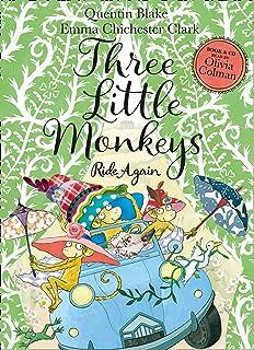 Three Little Monkeys Ride Again: Book & CD