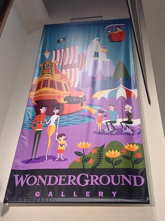 NEW Disney Parks WonderGround Gallery Tea Cups Print by Joey Chou