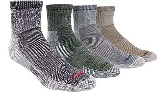 J.B. Field's Super-Wool Hiker GX Low-cut 1/4 Hiking Socks (3 Pairs)