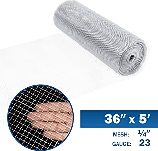 Fencer Wire 23 Gauge Galvanized Hardware Cloth with Mesh Size 1/4