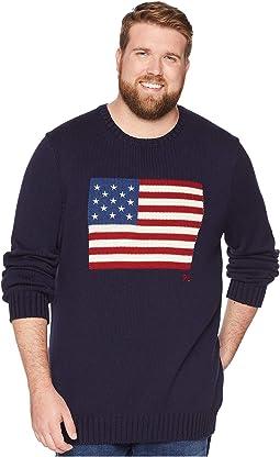 Big & Tall Icon Flag Sweater