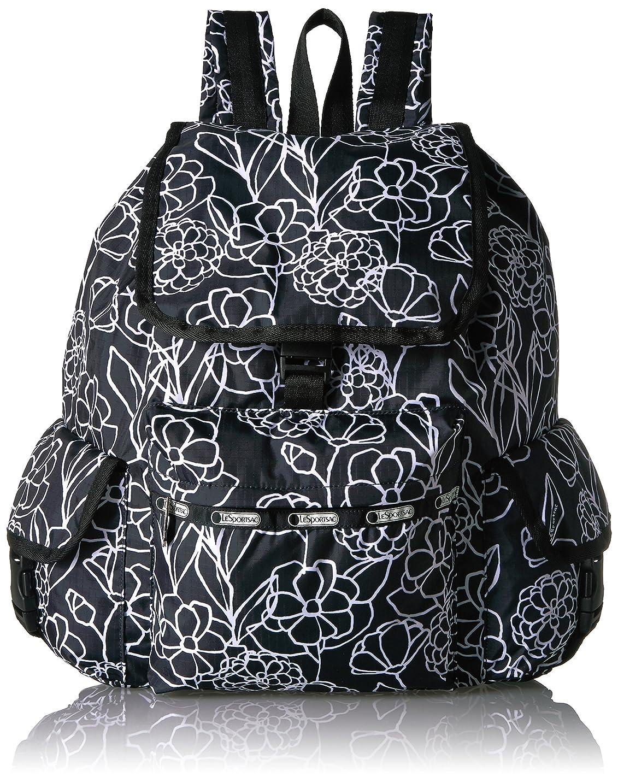 早い終わり商標LeSportsac レスポートサック Classic Voyager Backpack クラシックボイジャー バックパック Efflorescent エフロセント 7839 D925 レディス リュック 【並行輸入品】