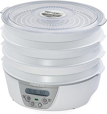 Presto 06301 fruit dryer - Deshidratador de fruta (377.9 x 381 x 190) White