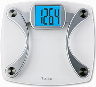 Taylor Precision Products Glass Electronic Scale, white