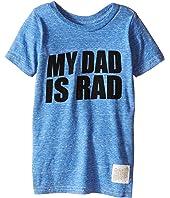 The Original Retro Brand Kids - My Dad is Rad Tri-Blend Tee (Toddler)